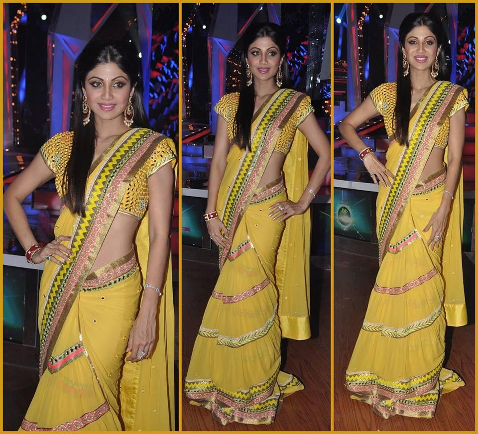 Shilpa-Shetty-in-Surily-Goel-saree