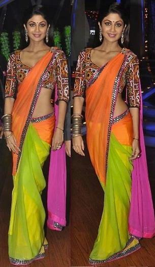 shilpa-shetty-in-neeta-lulla-saree