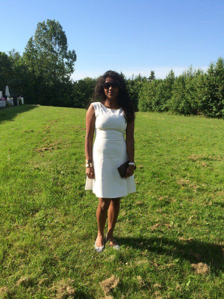 Zara kjole med havfruesnit