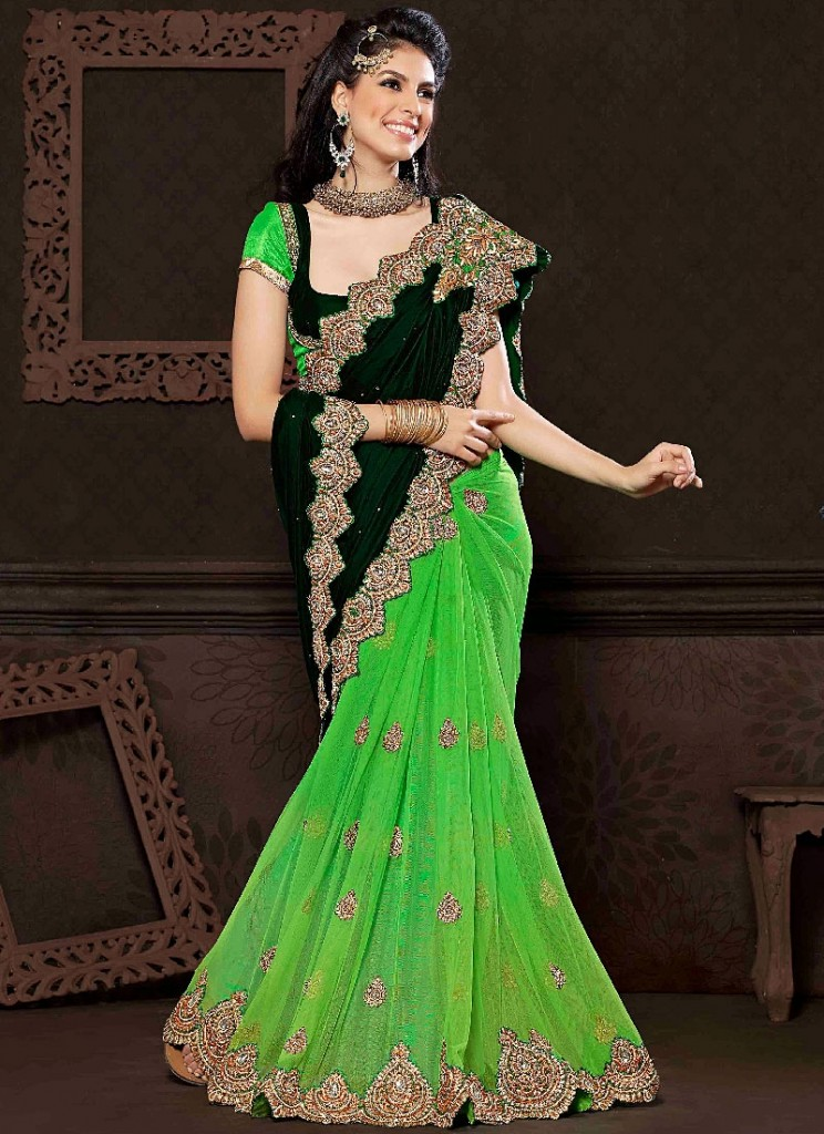 purity-green-net-velvet-saree